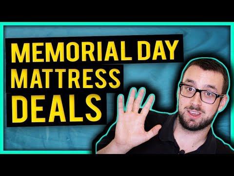 Top 5 Memorial Day Mattress Deals (2019)
