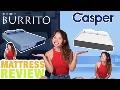 Blue Burrito vs Casper Mattress Review (UPDATED)