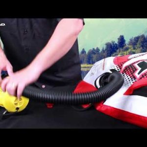 How To Inflate & Deflate Your Tube with a Boston Valve | Airhead Watersports