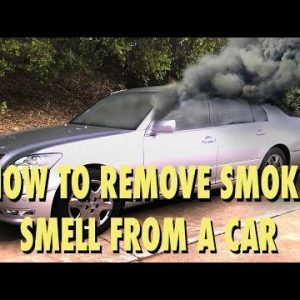 How to Remove Smoke Smell (and other odors) From a Car